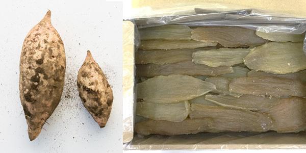 玉豊(たまゆたか)と干し芋